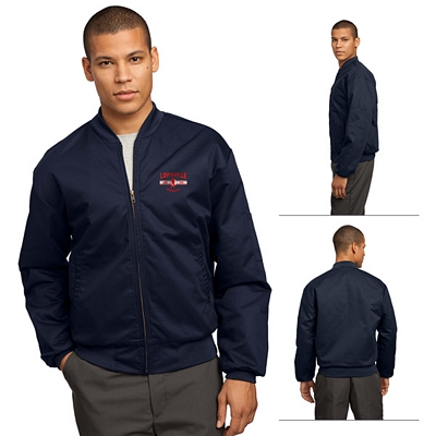 Customized Red Kap CSJT38 Team Style Jacket with Slash Pockets