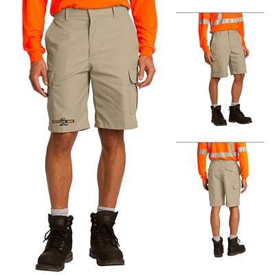 Customized Red Kap PT66 Industrial Cargo Short