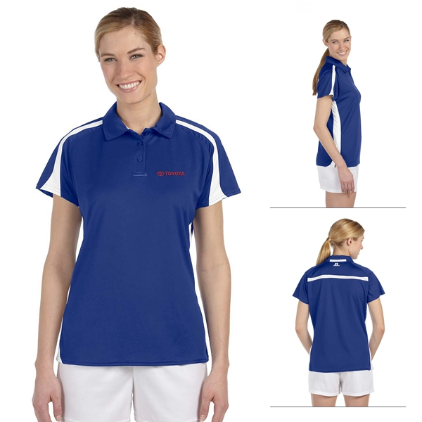 Russell Athletic S92cfx 49 Oz Ladies Team Game Day Polo Shirt