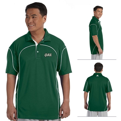 Customized Russell Athletic 434CFM 4.9 oz Team Prestige Polo Shirt