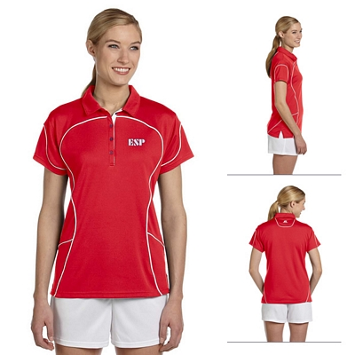 Customized Russell Athletic 434CFX 4.9 oz Ladies' Team Prestige Polo Shirt