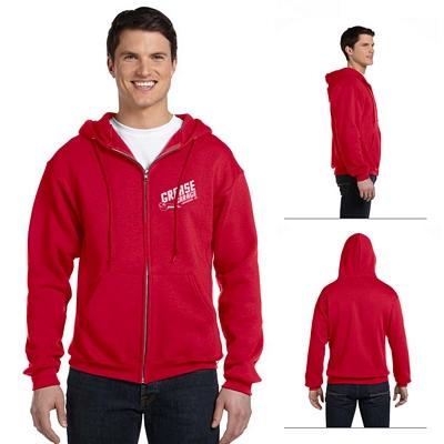 Customized Russell Athletic 697HBM Dri-Power Fleece Full-Zip Hood