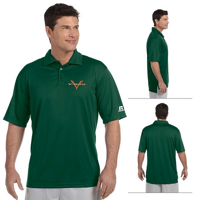 Customized Russell Athletic 833GHM 4.1 oz Men's Team Essential Polo