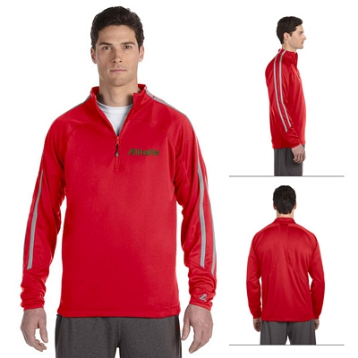 Customized Russell Athletic 8TPEFM Tech Fleece Quarter-Zip Cadet Jacket
