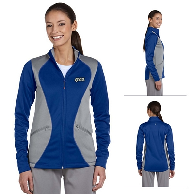 Customized Russell Athletic FS7EFX Ladies' Tech Fleece Full-Zip Cadet Jacket