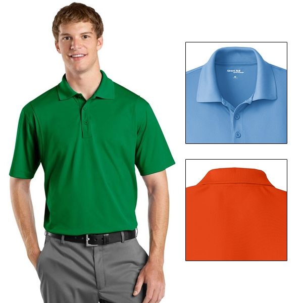 Sport Tek St650 Micropique Sport Wick Polo Non Printed Blank Sport Tek Sport Polos Smooth micropique polos that wick moisture and resist snags. sport tek st650 micropique sport wick polo non printed blank sport tek sport polos