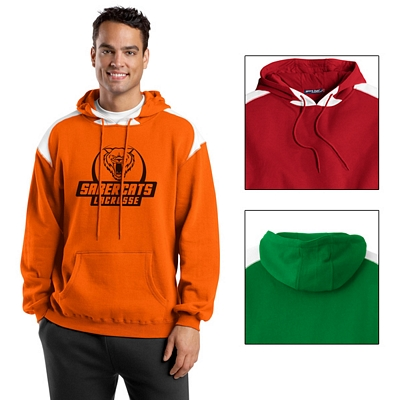 Customized Sport-Tek F264 Pullover Hooded Sweatshirt with Contrast Color