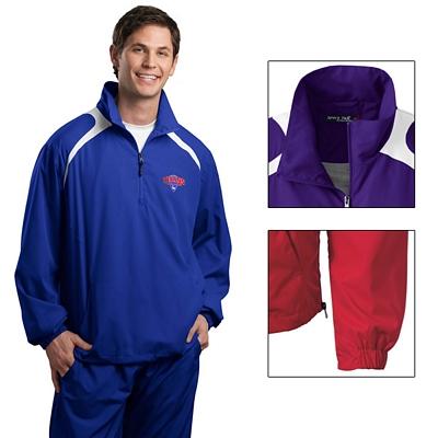 Customized Sport-Tek JST75 1/2-Zip Wind Shirt