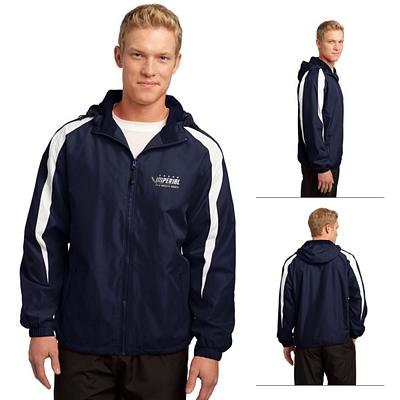 Customized Sport-Tek JST81 Fleece-Lined Colorblock Jacket
