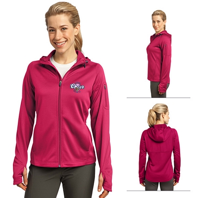Customized Sport-Tek L248 Ladies Tech Fleece Full-Zip Hooded Jacket