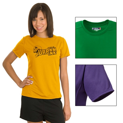 Customized Sport-Tek L473 Sport-Tek Ladies Dry Zone Raglan Accent T-Shirt