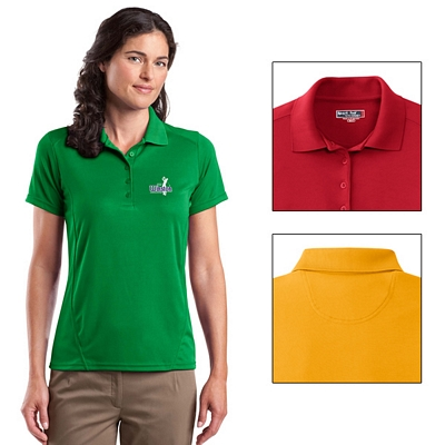 Customized Sport-Tek L475 Ladies Dry Zone Raglan Accent Polo