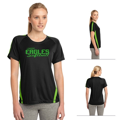 Customized Sport-Tek LST351 Ladies Colorblock Competitor Tee
