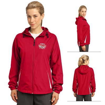 Customized Sport-Tek LST76 Ladies Colorblock Hooded Jacket