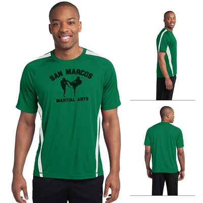 Customized Sport-Tek ST351 Colorblock Competitor Tee