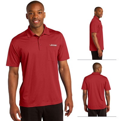 Customized Sport-Tek ST651 Micropique Sport-Wick Pocket Polo