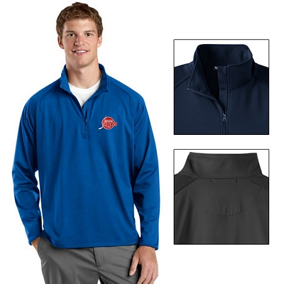 Customized Sport-Tek ST850 Sport-Wick Stretch 1/2-Zip Pullover