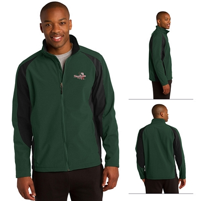 Customized Sport-Tek ST970 Colorblock Soft Shell Jacket