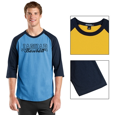 Customized Sport-Tek T200 Colorblock Raglan Jersey