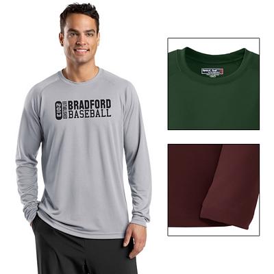 Customized Sport-Tek T473LS Sport-Tek Dry Zone Long Sleeve Raglan T-Shirt