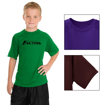 Customized Sport-Tek Y473 Youth Dry Zone Raglan T-Shirt