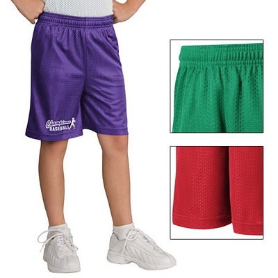 Customized Sport-Tek YST510 Youth PosiCharge Classic Mesh Short