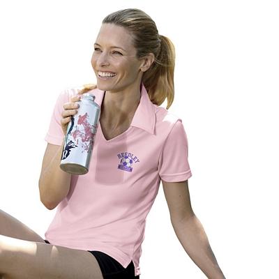 Customized UltraClub 8407 Ladies' Cool & Dry Sport Polo Shirt