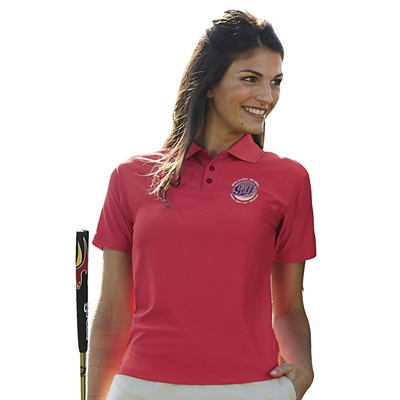 Customized UltraClub 8414 Ladies' Cool & Dry Elite Performance Polo