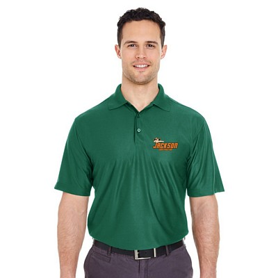 Customized UltraClub 8415 Men's Cool & Dry Elite Performance Polo