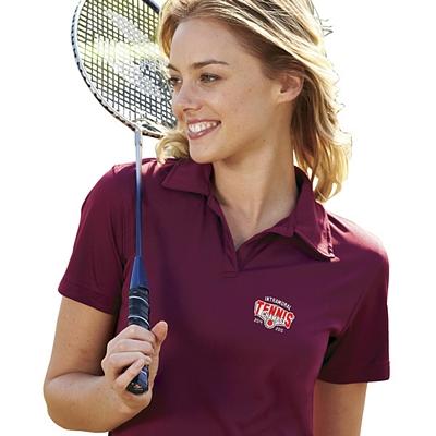 Customized UltraClub 8425L Ladies' Cool & Dry Sport Performance Interlock Polo
