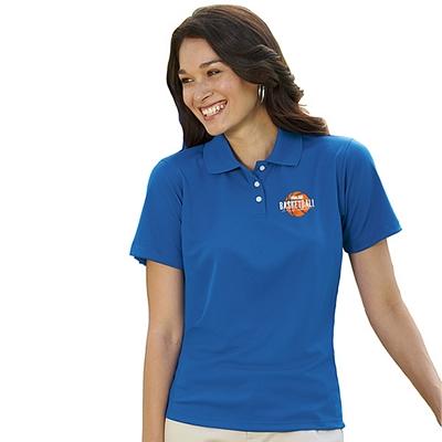 Customized UltraClub 8445L Ladies Cool & Dry Stain-Release Performance Polo