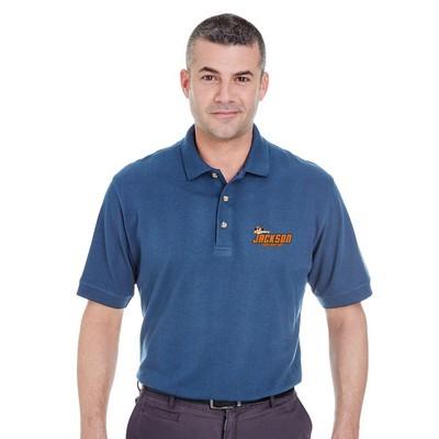 Customized UltraClub 8535 Men's Classic Pique Polo