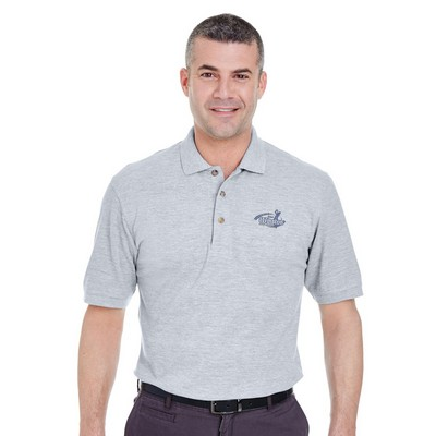 Customized UltraClub 8535T Adult Tall Classic Pique Polo