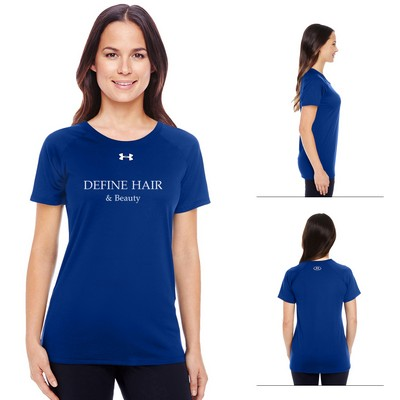 Customized Under Armour Ladies Locker T-Shirt