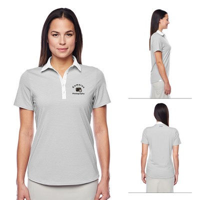 Custom Under Armour Ladies Clubhouse Polo
