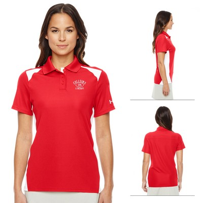 Promotional Under Armour Ladies Team Colorblock Polo