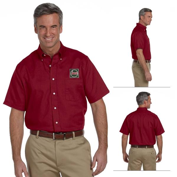 Product van heusen mens white short sleeve dress shirt for Van heusen men s short sleeve dress shirts