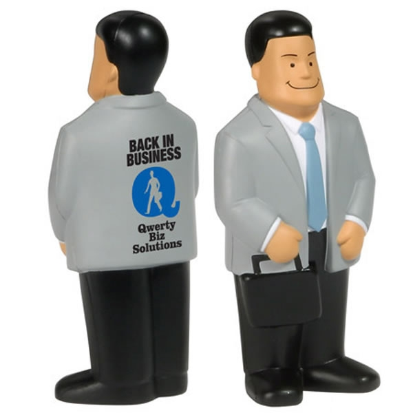 Boss Stress Relief Toys : Customized businessman stress reliever promotional