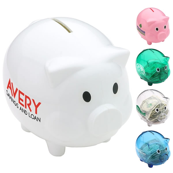 Large plastic piggy bank custom piggy bank jpg quotes Plastic piggy banks for kids