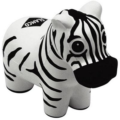 Promotional Zebra Stress Reliever