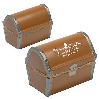 Promotional Treasure Chest Stress Reliever