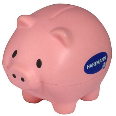 Promotional Thrifty Pig Stress Reliever