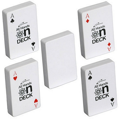 Promotional Deck of Cards Stress Reliever
