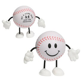 Promotional Baseball Figure Stress Reliever