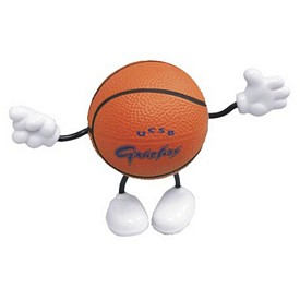 Custom Basketball Figure Stress Reliever