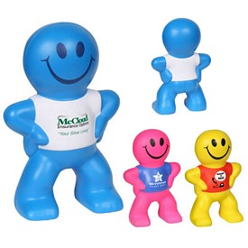 Promotional Captain Smiley Stress Reliever