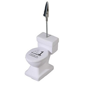 Promotional Toilet Memo Holder Stress Reliever