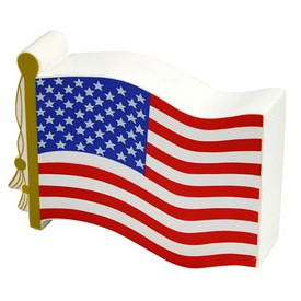 Promotional Us Flag Stress Reliever
