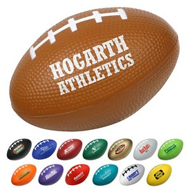 Customized Small 3 Football Stress Reliever