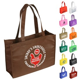 Promotional Tropic Breeze Nonwoven Tote Bag